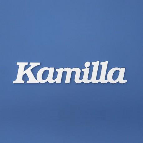 Kamilla név felirat ajtóra vagy a gyermekszoba falára!