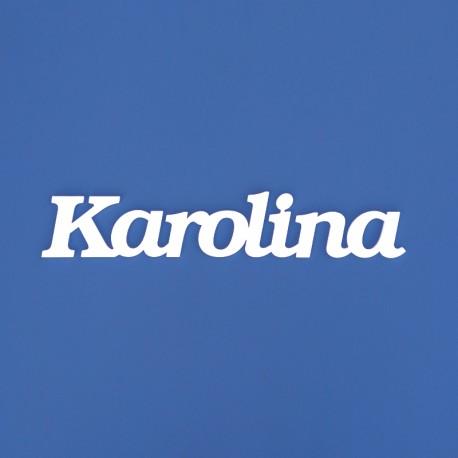 Karolina név felirat ajtóra vagy a gyermekszoba falára!