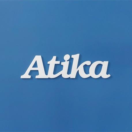Atika név felirat ajtóra vagy a gyermekszoba falára!