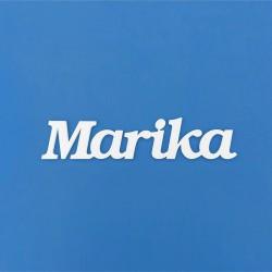 Marika név felirat ajtóra vagy a gyermekszoba falára!