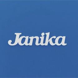 Janika név felirat ajtóra vagy a gyermekszoba falára!