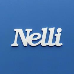 Nelli név felirat ajtóra vagy a gyermekszoba falára!