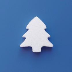 Fenyőfa alakú hungarocell anyagból készült karácsonyfadísz ajtóra, ablakra!