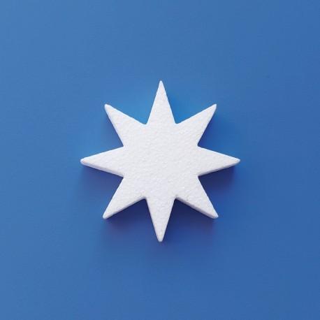Csillag alakú hungarocell anyagból készült karácsonyfadísz ajtóra, ablakra!