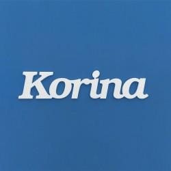 Korina név felirat ajtóra vagy a gyermekszoba falára!
