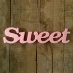 Sweet felirat Xps anyagból