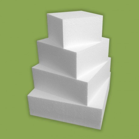 Négy emeletes 40cm magas demo torta hungarocellből