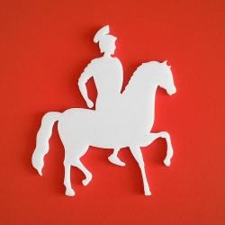 Római katona alakú Depron anyagból készült dekoráció