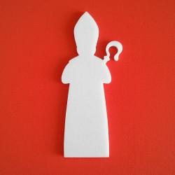 Püspök alakú Depron anyagból készült dekoráció