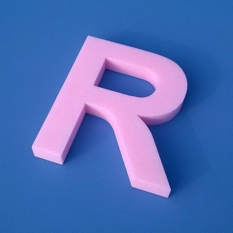 20 mm vastag betű, térbetű, felirat, habbetű, xps polisztirol