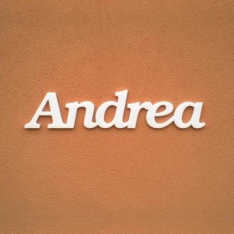 Andrea név felirat ajtóra vagy a gyermekszoba falára!