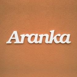 Aranka név felirat ajtóra vagy a gyermekszoba falára!